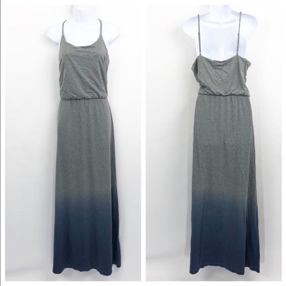 GAP Dresses & Skirts - NWT GAP Maxi Dress Gray Blue Ombre